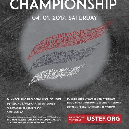 2017 USTEF Open Championship Poster