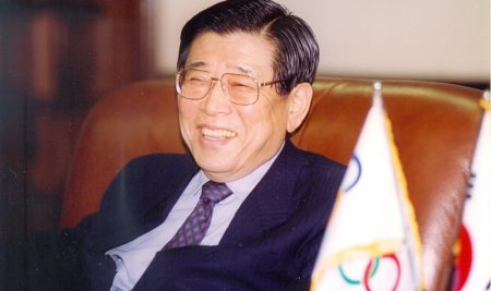 Kim Un-yong, the Giant of Korean Athletics, passed away