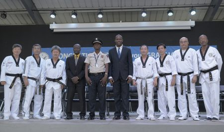 Taekwondo education program completion ceremony in Haiti PHOTO GALLERY