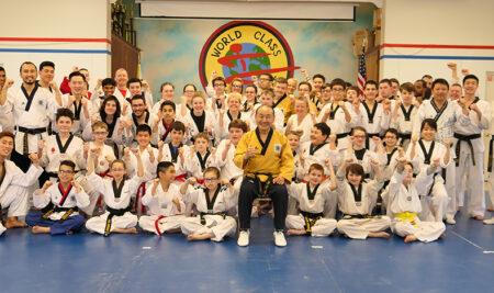 Poomsae seminar led by Hwang In-sik (Taekwondo 9th Dan)